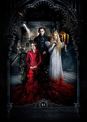 Crimson Peak (2015) - A1/A2 POSTER **BUY ANY 2 AND GET 1 FREE OFFER**