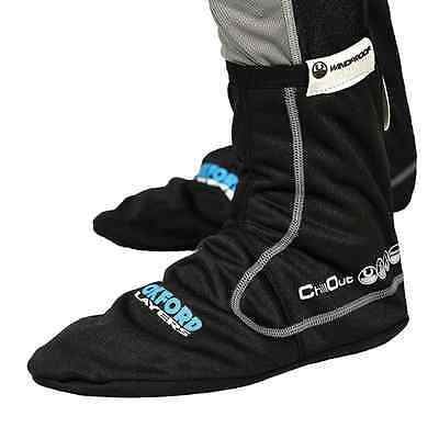 Oxford Motorbike Under Layers Chillout Windproof Boot Socks Size S-XXL