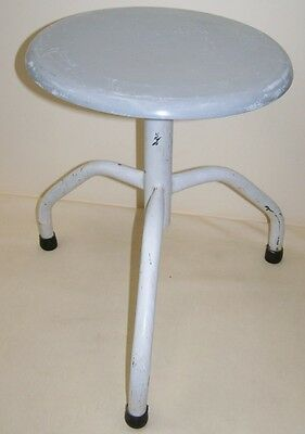 Old Doctor Stool, Designer Stool Metal Vintage Workshop Stools