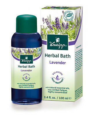 Kneipp Herbal Bath Lavender (100ml) (3.4 fl. oz.)