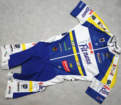 NESTLE FITNESS - QUEST - genuine HIGH QUALITY short sleeve cx SKINSUIT - size M