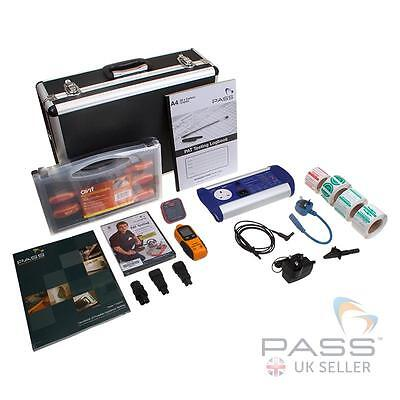 First Stop Safety BATTPAT PAT Tester Bundle 1 - Labels, Case, Log Book and More!