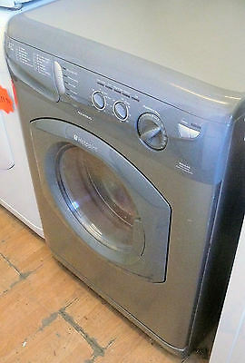 Silver Hotpoint All in one washer dryer spin 1400 spin 5+5kg load capacity