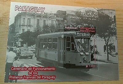 Paraguay 2013 Tramways M/S MNH per scan