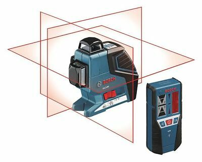 Cross Line Laser Level Kit, Bosch, GLL 3-80 LR 2