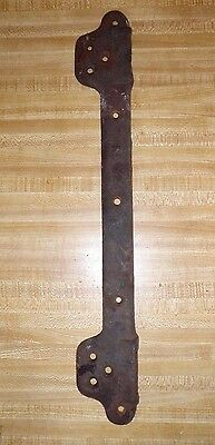 "21"" ANTIQUE RUSTIC COUNTRY CAST IRON No 4 SINK WALL MOUNT BRACKET RESTORATION"