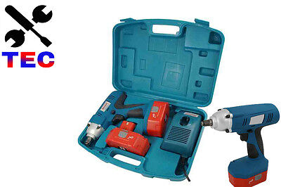 24 Volt 1/2 Inch Drive Cordless Impact Wrench Reversible
