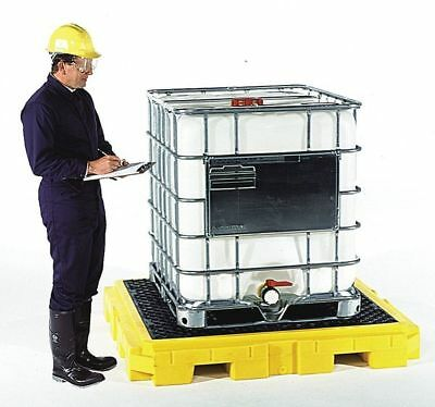 "62"" Drum Spill Containment Pallet, Ultratech, 9630"