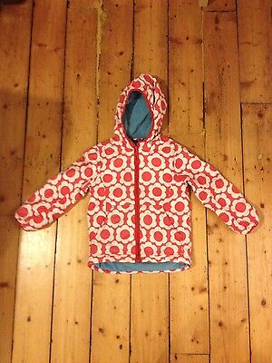 Girls red Boden jacket  7-8 years
