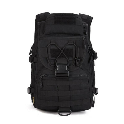 40L Outdoor Tactical Molle Assault Military Rucksack Backpack Travel Camping Bag