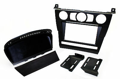 Connects2 Double Din Stereo Fitting Facia Kit BMW 5 series E60 2003-2007 Pre-LCI