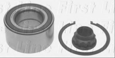 2x Wheel Bearing Kits Front FBK1016 First Line 6040100283 9036340079 9036340082