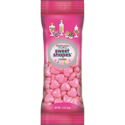 Celebrations By SweetWorks Sweet Shapes(TM) 1.5oz-Light Pink Hearts