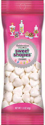 Celebrations By SweetWorks Sweet Shapes(TM) 1.5oz-White Hearts