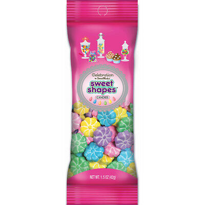 Celebrations By SweetWorks Sweet Shapes(TM) 1.5oz-Pastel Flowers