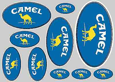 Camel Sticker Set - Sheet Of 10 Stickers - Decals