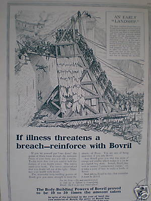 Reinforce with Bovril advert 1916 large