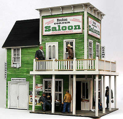 F/G scale  BANTA MODEL WORKS #8111 Roubies Saloon