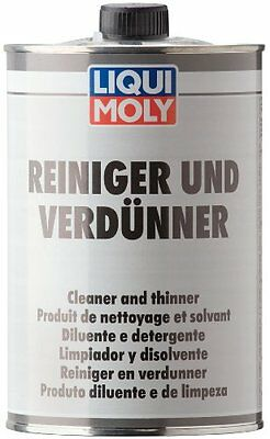 2x Cleaner And Thinner 1l 6130 Liqui Moly NEW MULTIBUY SAVER