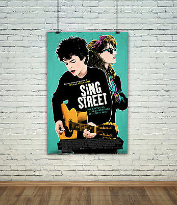 Sing Street Classic Movie Poster / Photo All Sizes Repro : #UC1480