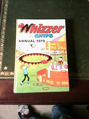 Whizzer & Chips Annual 1979, UK Annual, Vintage Book Printed 1978