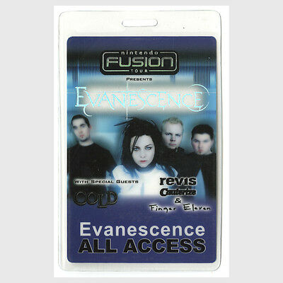 Evanescence ALL ACCESS 2003 Laminated Backstage Pass