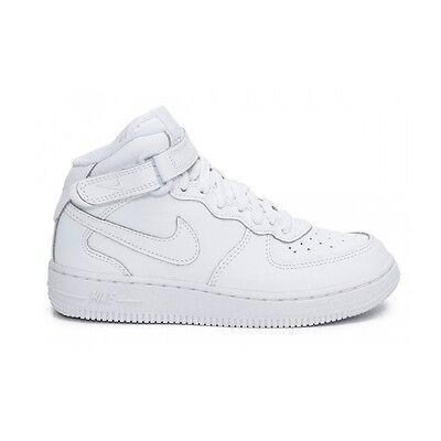 finest selection aa6c9 981eb Scarpe sportive bambino NIKE Air Force Hi in pelle col. bianco PS 314196-113