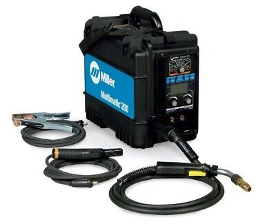 Miller Multimatic 200 MIG/Stick/TIG Welder - 907518 *FREE BONUS* 2pks of tips*