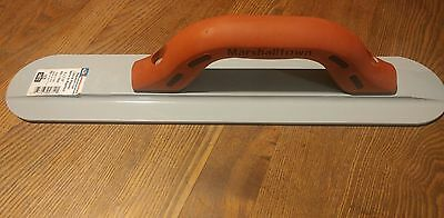 """Marshalltown Magnesium Hand Float Concrete Edger 16 x 3 1/8"""" NEW WITH TAGS"""