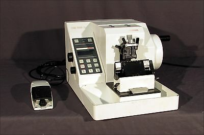 Microm HM355S / HM 355 S I Automated Rotary Microtome w/ Pedal etc.