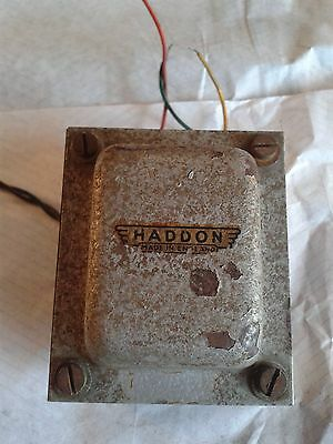 1 x AC15 output transformer, used  old stock Haddon 'Vox' type golden era 1960's