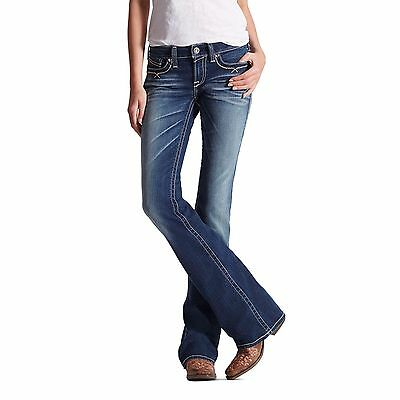 ARIAT - Women's Jeans - Turquoise Stacked A - Marine - ( 10017224 ) - New