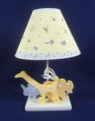 John Lennon Beatles Imagine Baby Nursery Lamp Elephant Giraffe Safari Animals