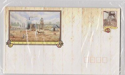 AUSTRALIA Pre Stamped Envelopes Desert Gold 1992 Set of 4 Unopened