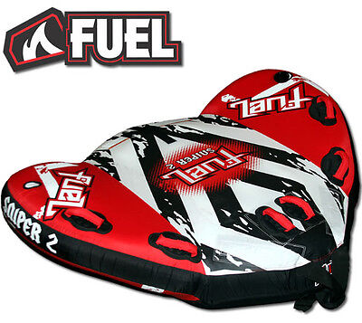 Fuel Sniper (2 Person) Surf Ski Tube Biscuit Inflatable *new*