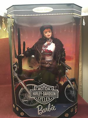 1998 Collector Limited Edition Harley Davidson Barbie Doll Second in Series NIB