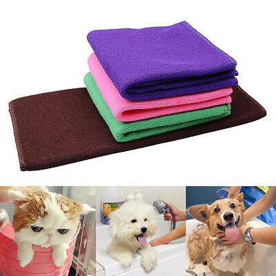 30*70cm Pet Drying Ultra-absorbent Towel Dog Bath Towel Microfiber Travel Use