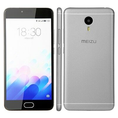 Meizu Meilan Note 3 in gray Phone DUMMY - Model Decor Requisite