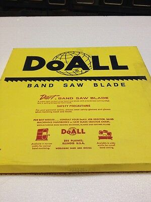 "NEW- DoAll Dart 3/8"" Band Saw Blade 100FT Type 308-221"