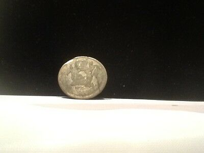 1931 Afghanistan 1/2 Afghani Silver Coin * Collectable Silver Coin *
