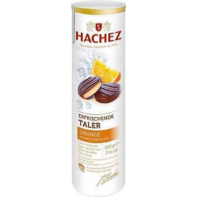 Hachez Orange Chocolate Discs - 100g