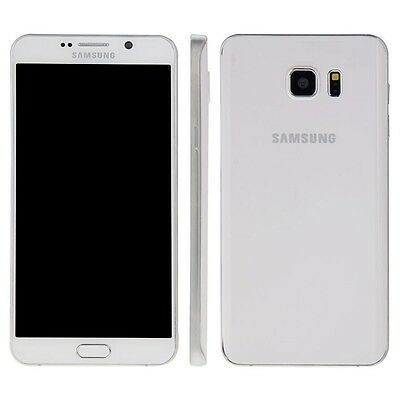 Samsung Galaxy Note 5 in white Phone DUMMY - Model Decor Requisite