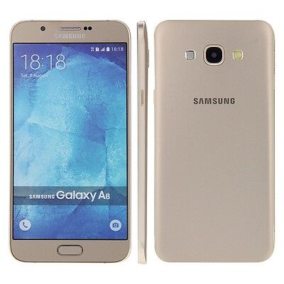 Samsung Galaxy A8 in Gold Phone DUMMY - Model Decor Requisite