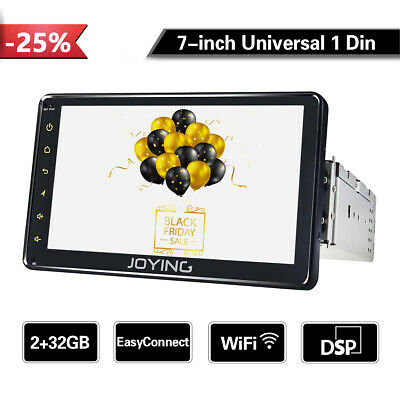 Joying Latest Automotive Single Din 7Inch Car Stereo Radio 4Gb Ram Px5 Octa Core