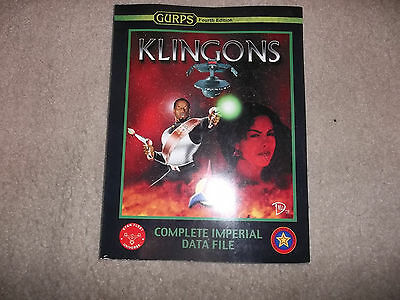 Gurps 4th Edition Prime Directive Klingons Complete Imperial Data File