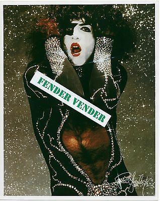 "Paul Stanley KISS Color 8"" x 10"" Photograph"