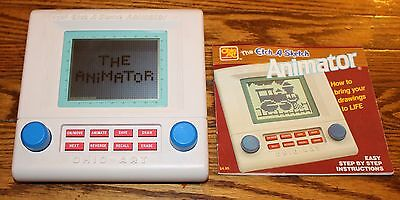 the Animator Etch a Sketch Electronic Toy Ohio Arts Tested 1987 Instructions