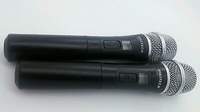 2 x  DIGITECH audio UHF wireless microphone