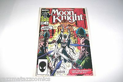 Moon Knight # 1 2 NM 9.4 Marvel Comics 1985 Fist Of Khonshu