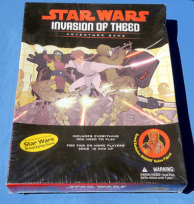 Sealed Invasion of Theed Star Wars Adventure Role Playing Game Hasbro Unopened